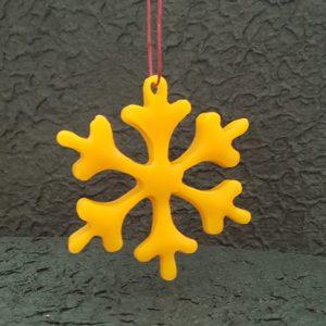 Schneeflocke - Adventsanhänger