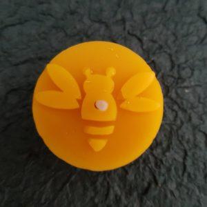 Teelicht - Biene - reiner Bienenwachs
