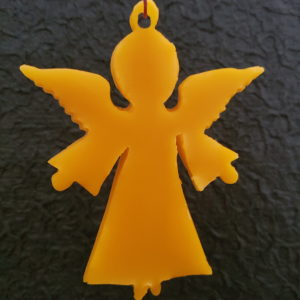 Engel - Adventsanhänger - aus reinem Bienenwachs