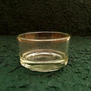Glasschale für Teelicht